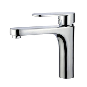Donostia Single Handle Bathroom Vanity Faucet in Polished Chrome