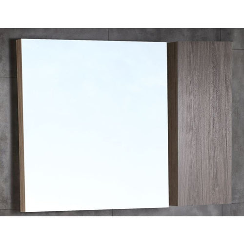 Bellaterra 42 In. Wood Framed Mirror With Cabinet