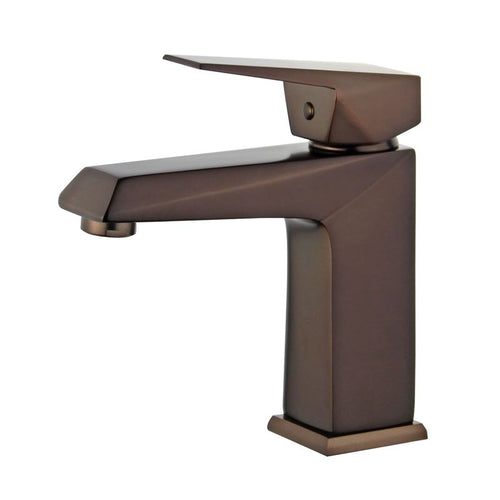 Valencia Single Handle Bathroom Vanity Faucet in Oil Rubbed Bronze