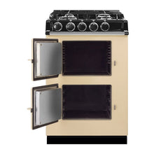 Load image into Gallery viewer, AGA City24 Dual Fuel Cast Iron Range with Gas Burners CLARET