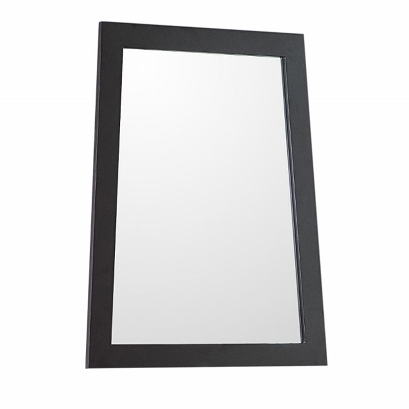 Bellaterra Ladder Shape Framed Mirror Manufactured Wood Espresso