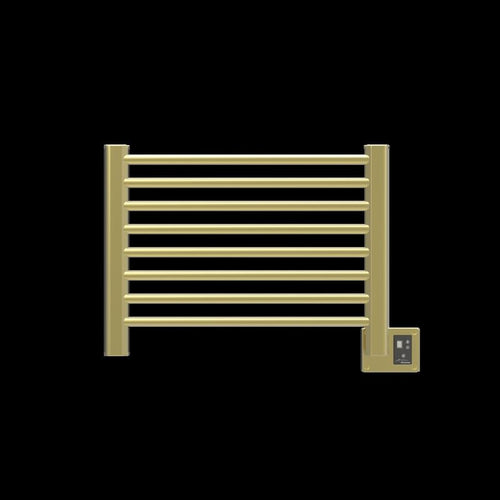 Amba Sirio S-2921 8 Bar Towel Warmer, Satin Brass