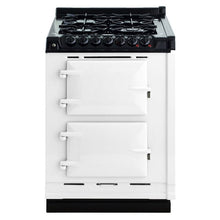 Load image into Gallery viewer, AGA Dual Fuel Module, Propane (LP) Gas Cooktop WHITE
