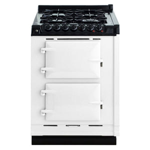 AGA Dual Fuel Module, Propane (LP) Gas Cooktop WHITE