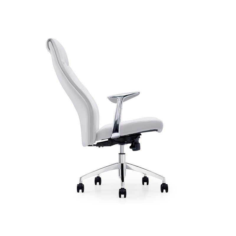 ARENA White Arm Office Chair by Casabianca Home