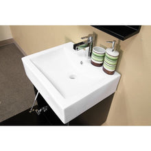 Load image into Gallery viewer, Bellaterra 41 In Double Wall Mount Style Sink Vanity Wood Dark Espresso