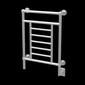 Amba Traditional T-2536 8 Bar Towel Warmer, Brushed Nickel