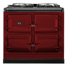 Load image into Gallery viewer, AGA Dual Control Cast Iron 3-Oven Dual Fuel Range CLARET