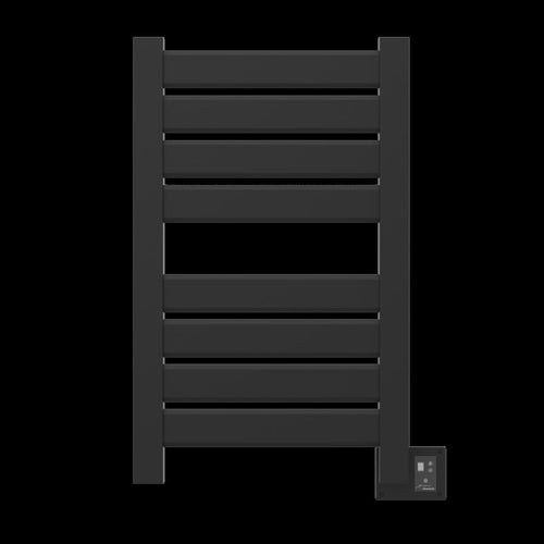 Amba Vega V-2338 8 Bar Towel Warmer, Matte Black