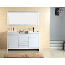 Load image into Gallery viewer, Adornus Alexa Double Vanity, High Gloss White