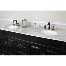 Load image into Gallery viewer, Bellaterra 72 In Double Sink Vanity Wood Espresso 205072-D-ES