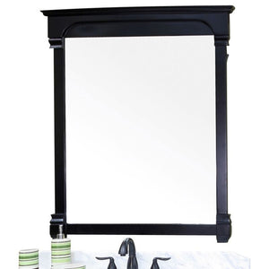 Bellaterra 42 In Solid Wood Frame Mirror Espresso