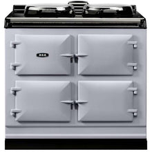 Load image into Gallery viewer, AGA Dual Control Cast Iron 3-Oven Electric Range PEARL ASHES