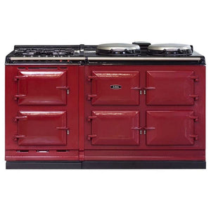 AGA Dual Fuel Module, Propane (LP) Gas Cooktop PEWTER