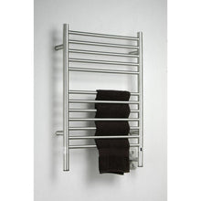 Load image into Gallery viewer, Amba E Straight 12 Bar Towel Warmer, Brushed