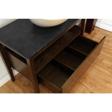 Load image into Gallery viewer, Bellaterra 35.5 In Single Sink Vanity Wood Dark Walnut