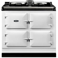 Load image into Gallery viewer, AGA Dual Control Cast Iron 3-Oven Electric Range WHITE