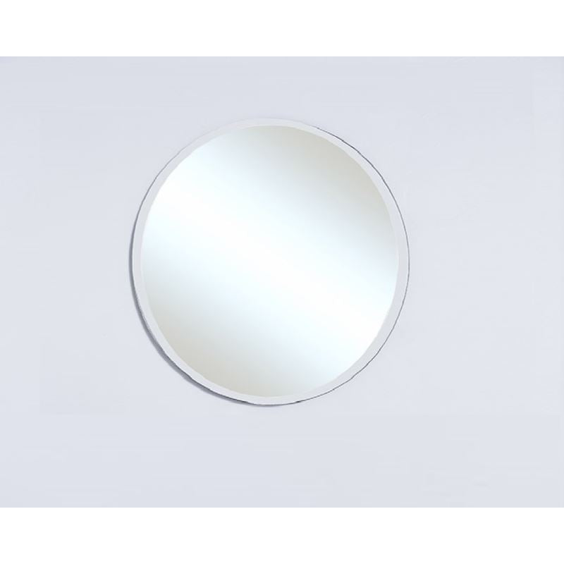 Bellaterra 27'' Round Frameless Mirror