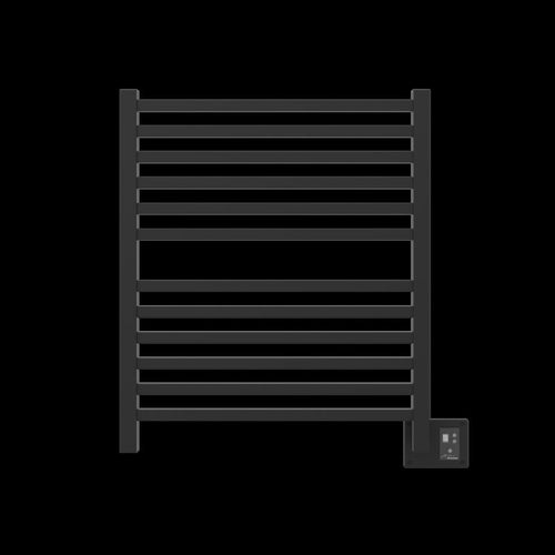 Amba Quadro Q-2833 12 Bar Towel Warmer, Matte Black