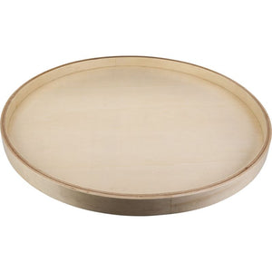"24"" Round Banded Lazy Susan with Swivel Preinstalled"