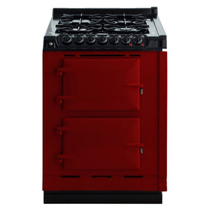 AGA Dual Fuel Module, Natural Gas Cooktop CLARET