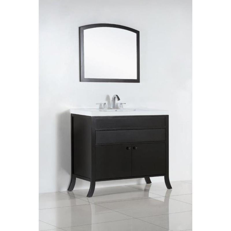 Bellaterra 36 In. Single Sink Vanity 500823B-36