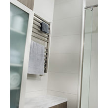 Load image into Gallery viewer, Amba Quadro Q-2033 12 Bar Towel Warmer, Brushed