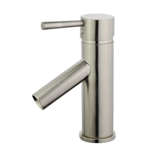 Malaga Single Handle Bathroom Vanity Faucet in Brushed Nickel