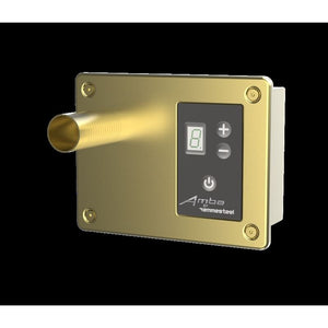 Amba Digital Heat Controller Satin Brass