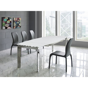 PULSE Dark Gray Eco-leather Dining Chair by Casabianca Home
