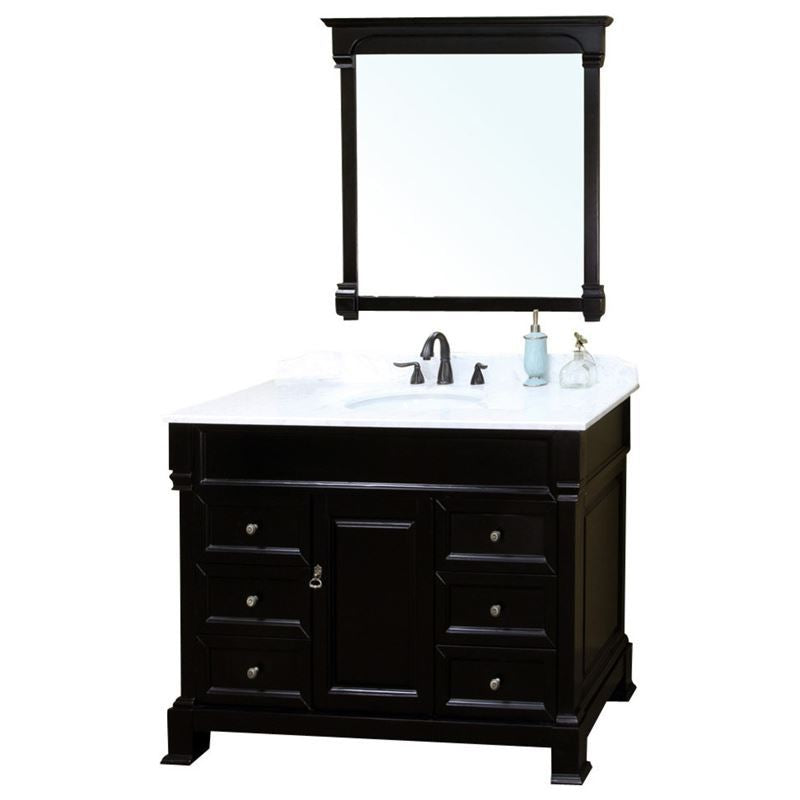 Bellaterra 50 In Single Sink Vanity Wood Espresso
