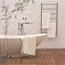 Load image into Gallery viewer, Amba F Straight 7 Bar Towel Warmer, Polished