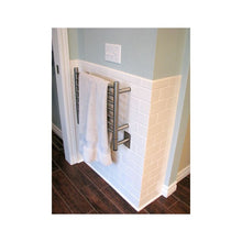 Load image into Gallery viewer, Amba H Straight 7 Bar Towel Warmer, Brushed