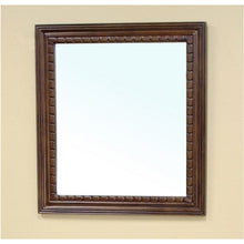 Load image into Gallery viewer, Bellaterra Solid Wood Frame Mirror Walnut 203045-MIRROR