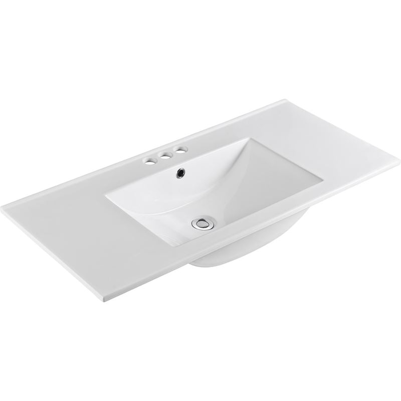 Bellaterra 48 In. Single Sink Ceramic Top