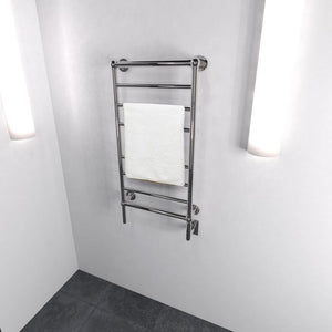 Amba Traditional T-2040 8 Bar Towel Warmer, Polished Nickel