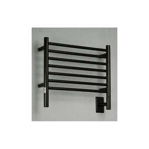 Amba H Straight 7 Bar Towel Warmer, Oil Rubbed Bronze