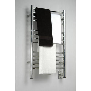Amba C Straight 13 Bar Towel Warmer, Polished