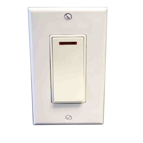 Amba Pilot Light Switch ATW-SW White