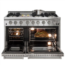 Load image into Gallery viewer, AGA Total Control Cast Iron 3-Oven Electric Range PEWTER