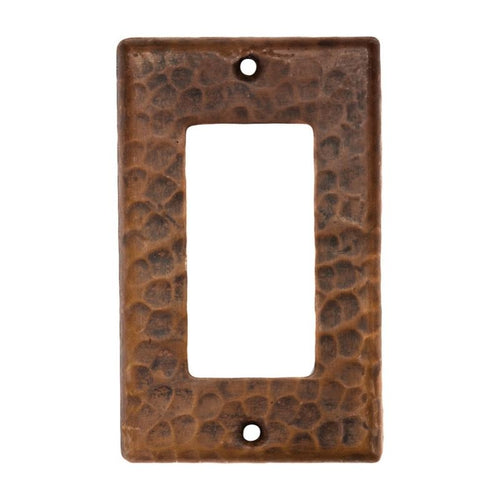 Copper Single Ground Fault/Rocker GFI Switchplate Cover - Quantity 2