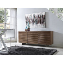Load image into Gallery viewer, MOON Walnut Veneer Buffet by Casabianca Home