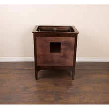 Load image into Gallery viewer, Bellaterra 30 In Single Sink Vanity In Sable Walnut With Quartz Top In Cream