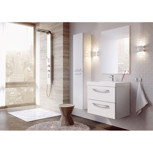 Adornus Jump Side Cabinet, High Gloss White