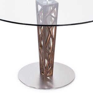 "Dylan 30"" Bar Height Barstool in Brushed Stainless Steel"