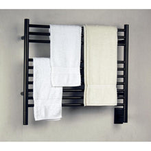 Load image into Gallery viewer, Amba K Straight 10 Bar Towel Warmer, Oil Rubbed Bronze