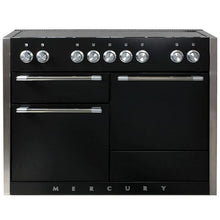 "Load image into Gallery viewer, 48"" AGA Mercury Multiple Oven Induction Range MATTE BLACK"