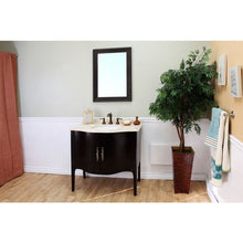 Load image into Gallery viewer, Bellaterra 36.6 In Single Sink Vanity Wood Espresso