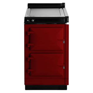 AGA Electric Hotcupboard with Warming Plate Top CLARET