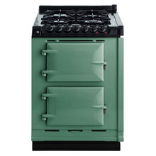 Load image into Gallery viewer, AGA Dual Fuel Module, Natural Gas Cooktop PISTACHIO
